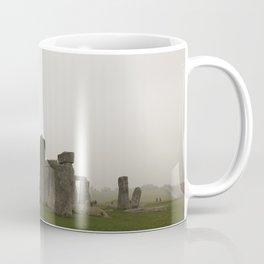 A Misty Morning at Stonehenge Coffee Mug