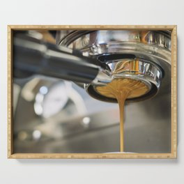 Latte Coffee Machine Serving Tray