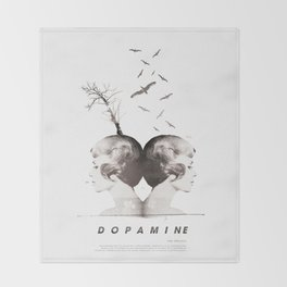 Dopamine | Collage Throw Blanket