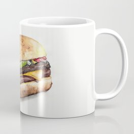 Color pencil Hamburger Coffee Mug