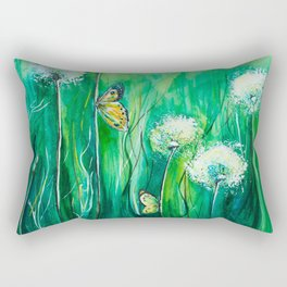 The color of summer Rectangular Pillow