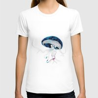 jellyfish T-shirts featuring jellyfish by Leilalilium