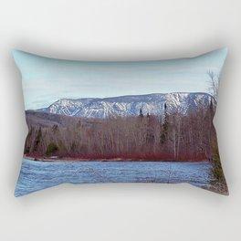 Mont Albert in the Spring Rectangular Pillow