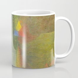 Les Origines, Rainbow and Pyramids landscape by Paul Serusier Coffee Mug