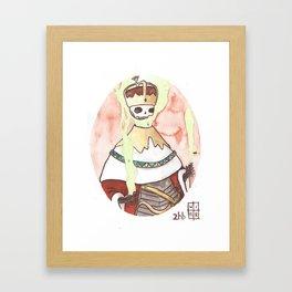Skull King Of The Emerald Crown Framed Art Print