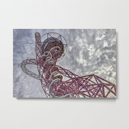 The Arcelormittal Orbit Art Metal Print