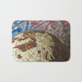 Cartographic Imperfections Bath Mat