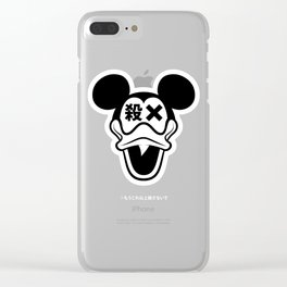殺さないで Clear iPhone Case
