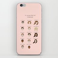 snl iPhone & iPod Skins featuring Cutie Pies of SNL by Tyler Feder