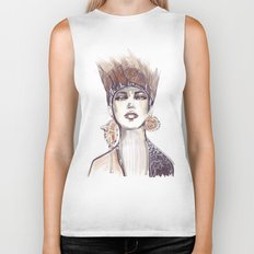 Punk fashion illustration  Biker Tank