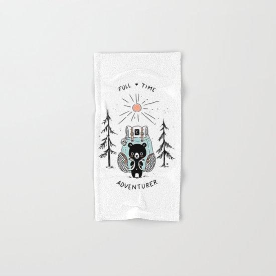 Adventure Bear Hand & Bath Towel