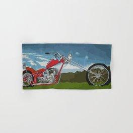 El Longo - Triumph - Denver's Chopper - Motorcycle Hand & Bath Towel