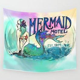 Mermaid Motel Wall Tapestry