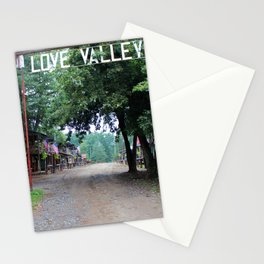 Town Of Love Valley Stationery Cards