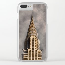 The Chrysler Building Clear iPhone Case