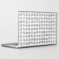 tree rings Laptop & iPad Skins featuring Tree Rings by Andrew Stephens