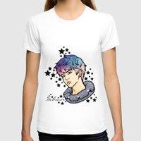exo T-shirts featuring [EXO] - Sehun Galaxy by sagwa