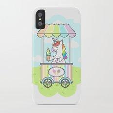 Unicorn Ice Cream Slim Case iPhone X