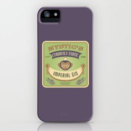 Mystic's Curiously Exotic Imperial Gin iPhone Case