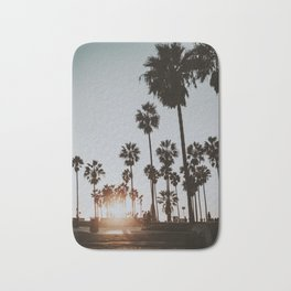 palm trees vi / venice beach, california Bath Mat