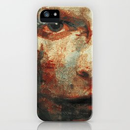 The Human Race 3 iPhone Case