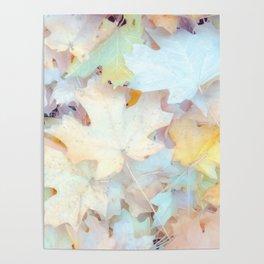 """Autumn Leaves Pastel"" by Murray Bolesta Poster"