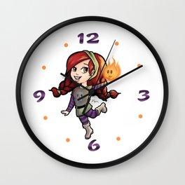 Chibi girl Wall Clock