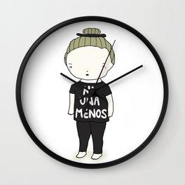 Ni Una Menos Wall Clock