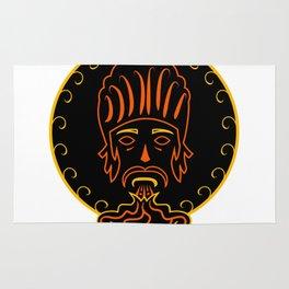 The king of vape #society6 #decor #buyart #artprint Rug