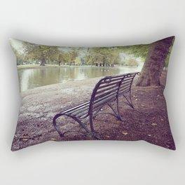 Riverside Iron Bench Rectangular Pillow