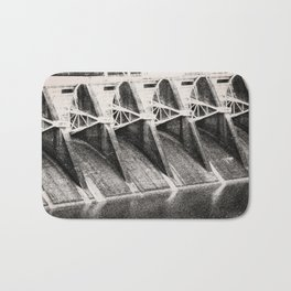 Industrial Dam Structure Bath Mat