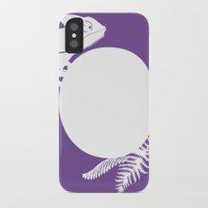 C is for Chameleon - Animal Alphabet Series Slim Case iPhone X