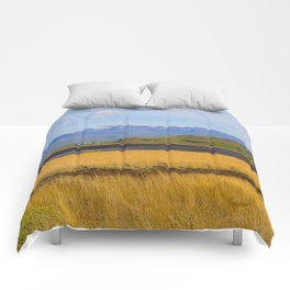Icelandic fields Comforters