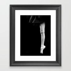 Pointe Framed Art Print