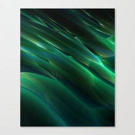 Alien Grass Canvas Print