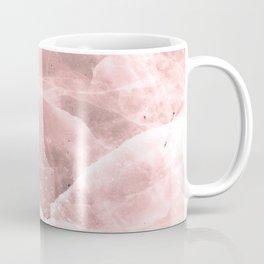 Rose quartz stone Coffee Mug