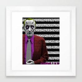 Pantone 9/10 = William R. Burroughs Framed Art Print
