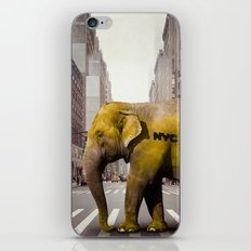 Elephant Taxi NYC iPhone & iPod Skin