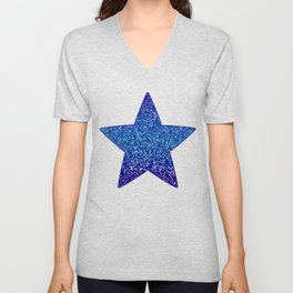 Glitter Graphic G84 Unisex V-Neck