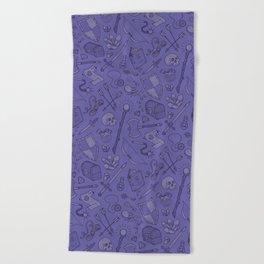 Inventory in Purple Beach Towel