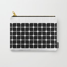 Mod Cube - Black & White Carry-All Pouch