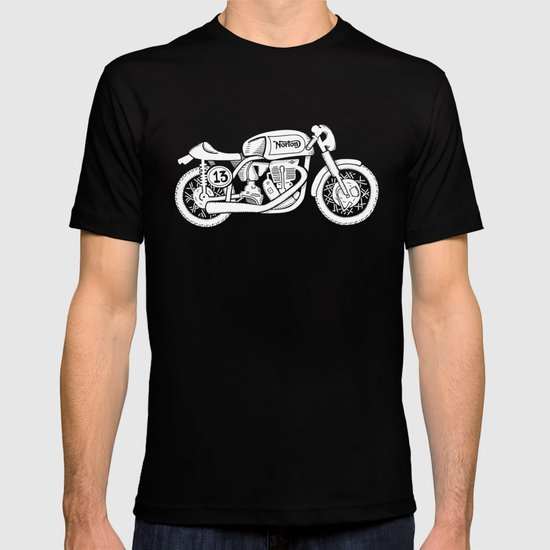 Norton Model 30 - Cafe Racer series #2 T-shirt