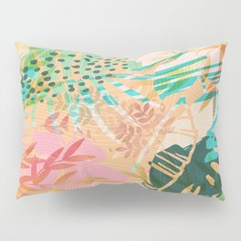 Tropical Mixup Pillow Sham
