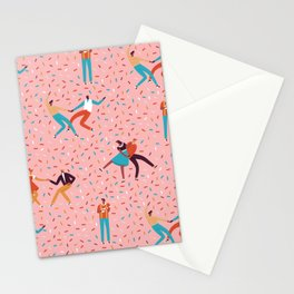Sock hops Stationery Cards
