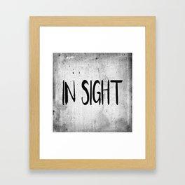 In Sight Framed Art Print