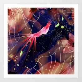 Le Jardin Secret Art Print