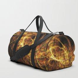 Fall Leaf Textures Duffle Bag