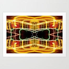 Dual core Art Print