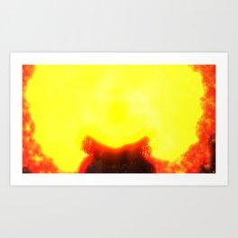 Fly:Fire Fly Art Print