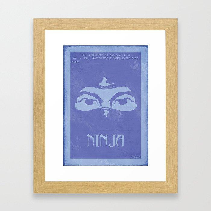 Retrogameing - Last Ninja Framed Art Print